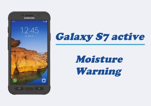 Moisture Warning on USB Charging Port Galaxy S7 Active