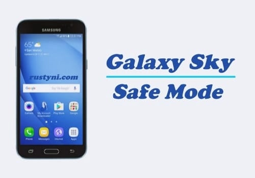 How to Boot Into Safe Mode on Samsung Galaxy Sky