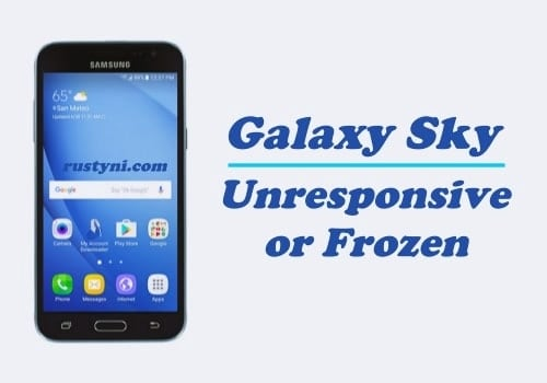 How to Fix Unresponsive or Frozen Samsung Galaxy Sky