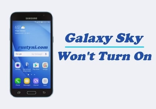 How to Fix Samsung Galaxy Sky that Won't Turn On