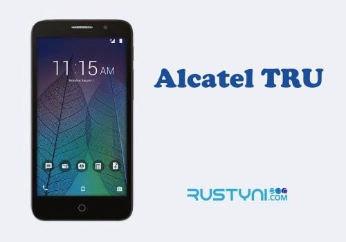 MetroPCS Alcatel TRU User Manual / User Guide