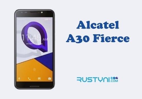 MetroPCS Alcatel A30 Fierce User Manual