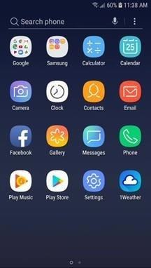 Samsung Galaxy J3 Apps