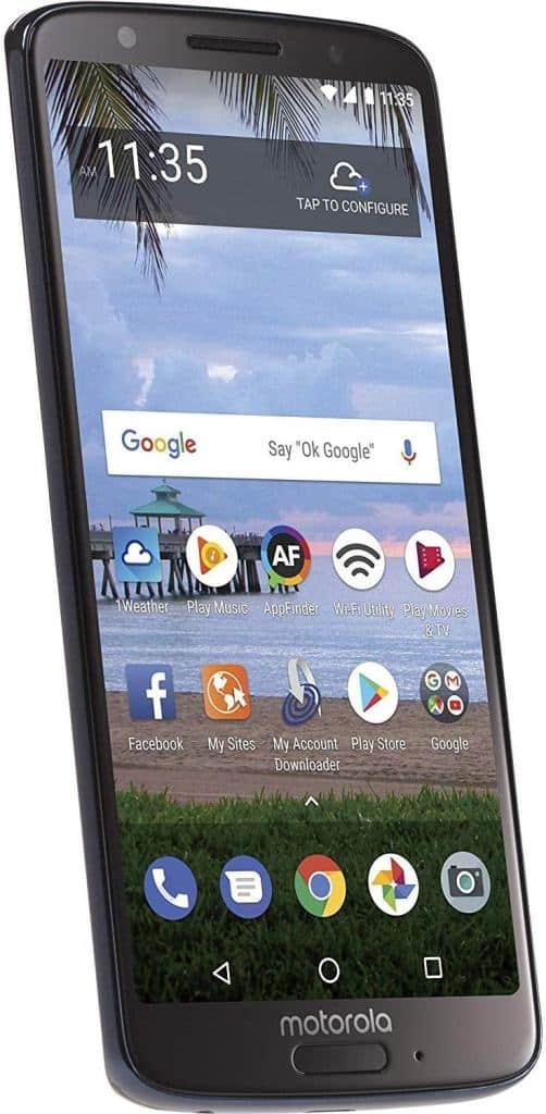 Moto G6 Side View