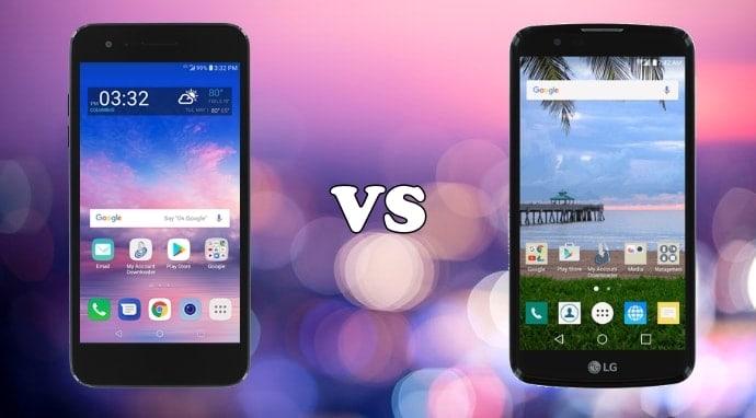 lg rebel 4 vs lg premier pro specs comparison