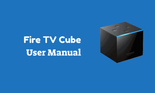 Fire TV Cube User Guide