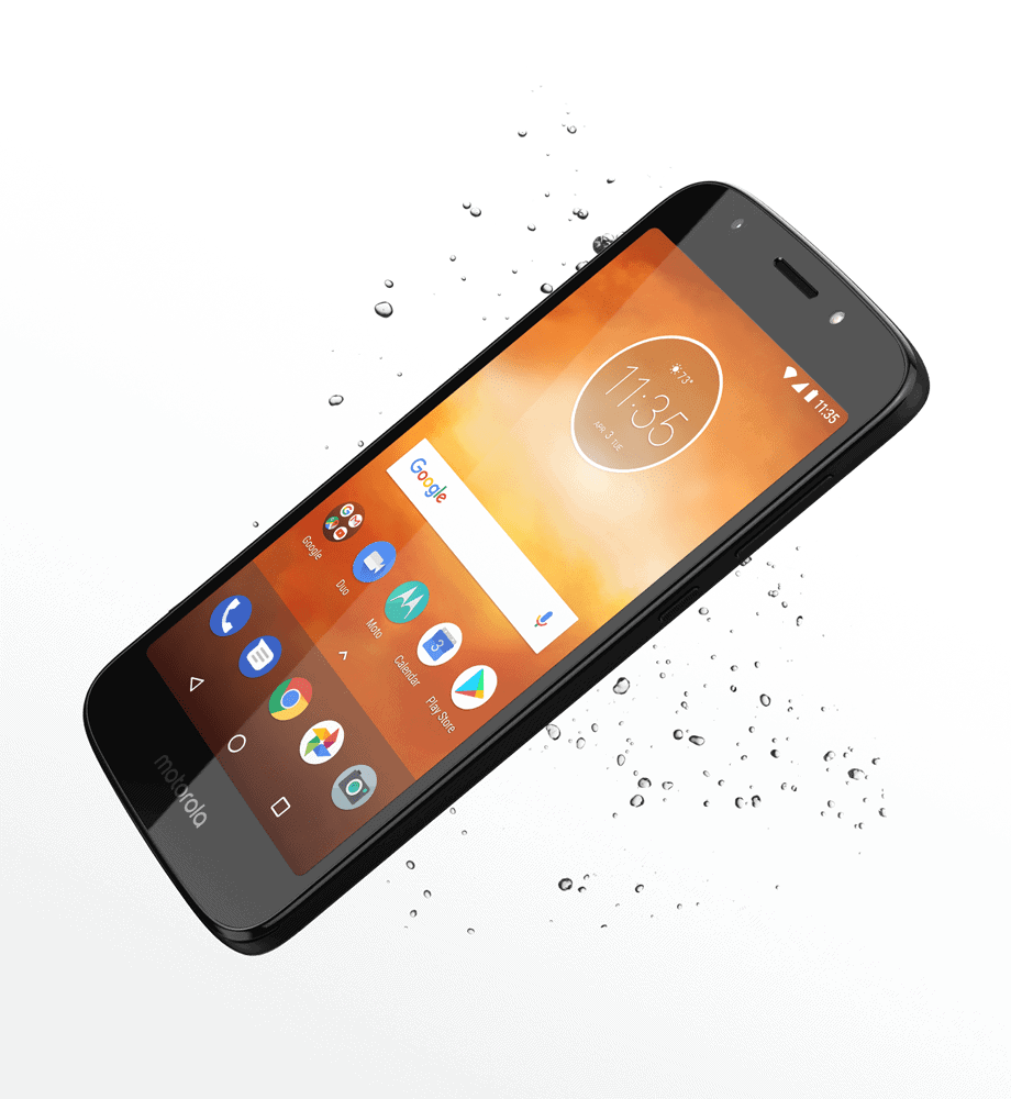 Moto E5 Go Splash Feature