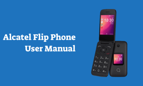 Alcatel Flip Phone User Manual