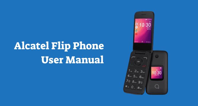 Alcatel Flip Phone User Manual