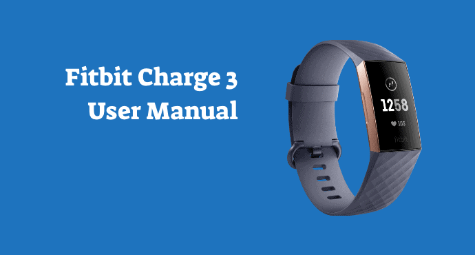 Fitbit Charge 3 User Manual