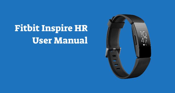 Fitbit Inspire HR User Manual