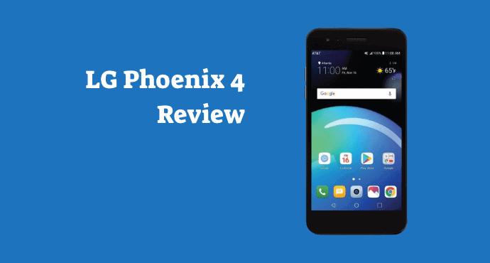 LG Phoenix 4 Review