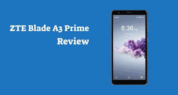 ZTE Blade A3 Prime Review