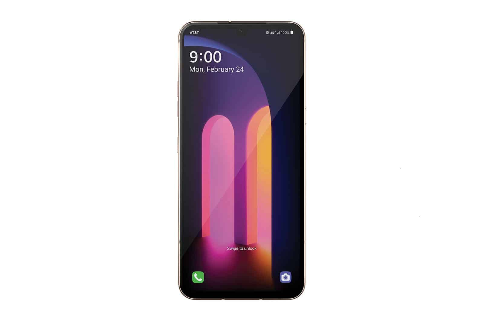 LG V60 ThinQ 5G Front View
