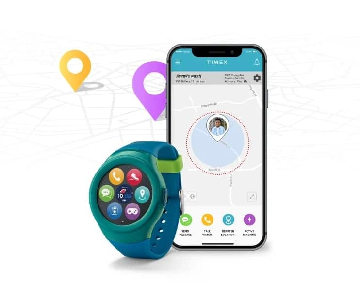 Timex Family Connect Tracking