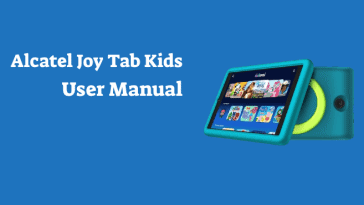 alcatel joy tab kids user manual
