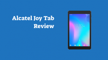 alcatel joy tab review