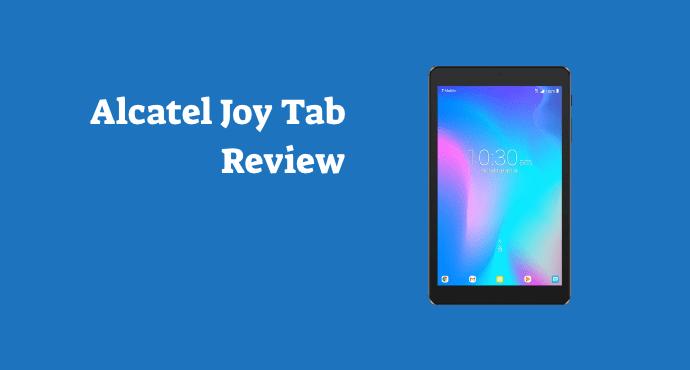 alcatel joy tab review