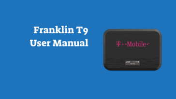 Franklin T9 Mobile Hotspot User Manual