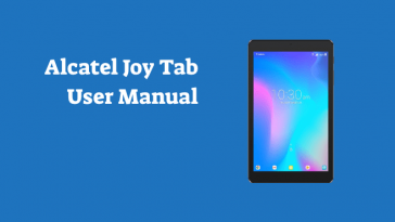 alcatel joy tab user manual