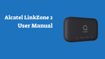 alcatel linkzone 2 user manual
