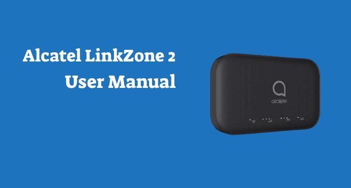 alcatel linkzone 2 user manual