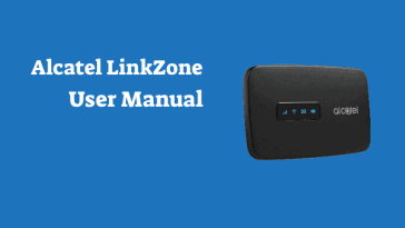 alcatel linkzone user manual