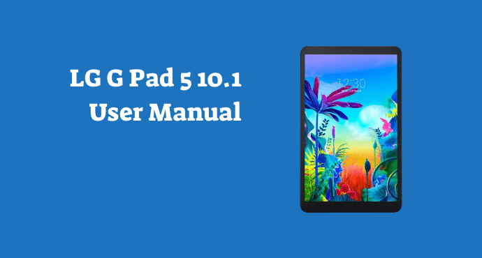 lg g pad 5 user manual