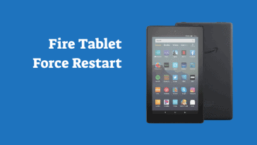 Amazon Fire Tablet Force Restart